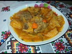 Bors scăzut Молдавское национальное блюдо - YouTube Thai Red Curry, Ethnic Recipes, Youtube, Food, Essen, Meals, Youtubers, Yemek, Youtube Movies