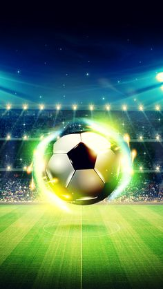 Football Field, Football Soccer, Soccer Ball, Football Wallpaper Iphone, Iphone Wallpaper, Soccer City, Football Background, Soccer Backgrounds, Football Tattoo