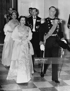 The Long Reign of Queen Elizabeth II Queen Elizabeth in Denmark for a State Visit with King Frederik IX