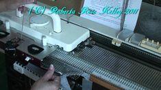 Surprise Jacket on Knitting Machine-youtube video by Roberta Kelley
