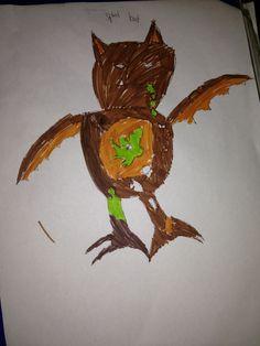 Ijah's trash pack design - Splat Bat.    Please vote for him!!