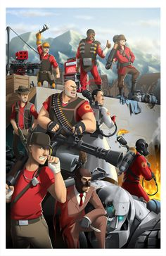 by BurntGreenTea on DeviantArt (Team Fortress Team Fortress 2, Overwatch, Tf2 Funny, Tf2 Memes, Pokemon, Game Character, Good Times, Fangirl, Video Games