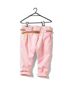every little girl needs pink pants.