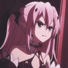 How are you today my loves? Anime Profile, All Anime, Seraphim, Seraph Of The End, Kawaii Anime, Cartoon Icons, Anime Characters, Anime Drawings, Aesthetic Anime