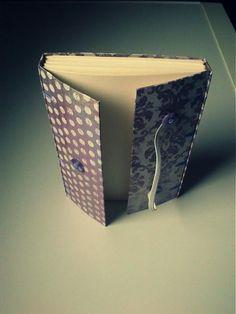 ardeas / Violet (zapisnik A6) handmade bookbinding