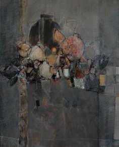 Catherine Severac: des lignes et des couleurs: IX - 100x81 - huile sur toile
