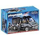 "Playmobil - Fourgon de police avec sirène et gyrophare - 6043 - Playmobil - Toys""R""Us"