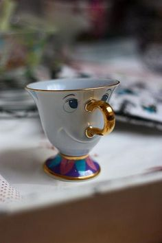 Chip from Beauty and the Beast. Would absolutely love and beauty and the beast tea set! Stars Disney, Disney Love, Disney Magic, Disney Pixar, Disney Poster, Beauty And The Beast, Beauty Beast, Tea Party, Tea Cups
