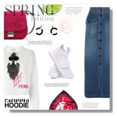 """""""Hijab"""" by sans-moderation ❤ liked on Polyvore featuring Chloé, adidas, Fendi, Proenza Schouler, Laura Biagiotti, denim, converse, hijab and polyvorecontest"""