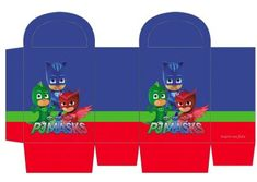 Pj Mask Party Decorations, Party Themes, Pj Max, Festa Pj Masks, Crafts For Kids, Gabriel, Silhouette, Tags, Blog