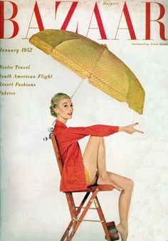 Vintage Vogue January 1952   Ritzy Ragz & Thingz – Designer Consignment