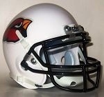 Corning Cardinals Schutt Replica Mini Helmet - Corning, CA