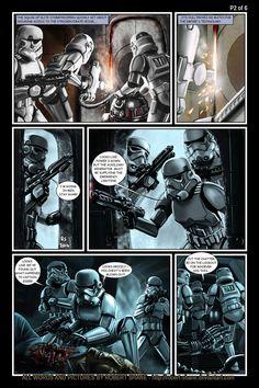 Star Wars vs Aliens - short story - Page 2 of 6 by Robert-Shane on deviantART
