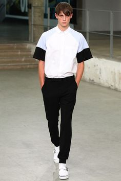Carven Spring 2015 Menswear Collection Slideshow on Style.com