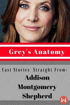 """I kind of liked being the wicked bitch."" Kate Walsh (Addison Montgomery-Shepherd) Reveals Early Grey's Anatomy Stories.  Greys Anatomy, Grey's Addison, Grey's women, Grey's Seattle, Shonda Rhimes,  Addison Montgomery, Addison Shepherd, ginger of Grey's Anatomy, Grey's Cast stories."