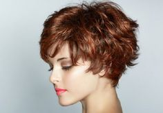 wanna give your hair a new look? Short shag hairstyles is a good choice for you. Here you will find some super sexy Short shag hairstyles, Find the best one for you, Short Shag Hairstyles, Haircuts For Curly Hair, Short Hair With Bangs, Curly Hair Styles, Cool Hairstyles, Short Haircuts, Thick Hair, Wispy Bangs, Hairstyle Short