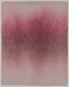 暖冬 黃美雲 膠彩畫 110x90x3cm