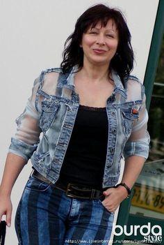 Denim без правил. Переделка джинсовой куртки. Обсуждение на LiveInternet - Российский Сервис Онлайн-Дневников