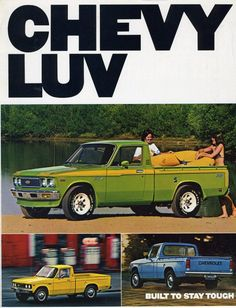 1979 Chevy Luv truck my first vehicle:)