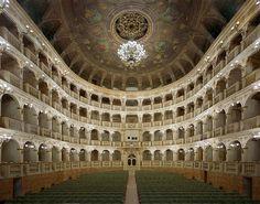 Teatro Comunale di Bologna - Bologna, Italy. Photo by David Leventi