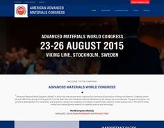 """Check out new work on my @Behance portfolio: """"American Advanced Materials Congress"""" http://be.net/gallery/37026943/American-Advanced-Materials-Congress"""