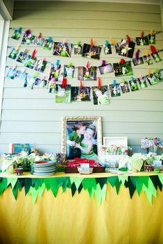 Seriously cute Neverland + Tinkerbell Themed Birthday Party via Kara's Party Ideas KarasPartyIdeas.com