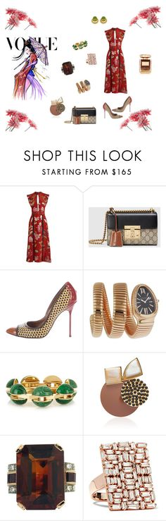 """Mulan in Spring-Vogue ..."" by athinakarayiannide ❤ liked on Polyvore featuring Burberry, Gucci, Sergio Rossi, Disney, Bulgari, Chloé, Marni, Suzanne Kalan and By Terry"