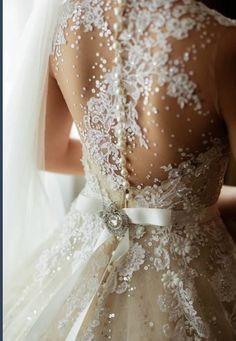 Wedding dress back, Lacey and flawless
