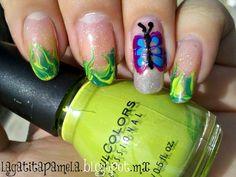 needle marble nails