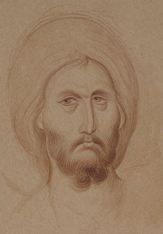 Byzantine Icons, Byzantine Art, Greek Mythology Art, Roman Mythology, Archangel Raphael, Raphael Angel, Monochrome Painting, Paint Icon, Nose Drawing