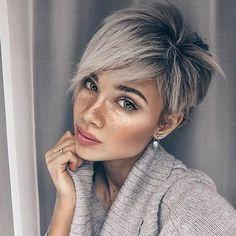 Blonde Pixie Cuts, Short Hair Cuts, Brunette Pixie, Short Blonde, Popular Short Hairstyles, Bob Hairstyles, Hairstyles Pictures, Popular Haircuts, Pretty Hairstyles