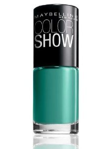 Maybelline Color Show Nail Lacquer 330 Tenacious Teal  ~  $5.49