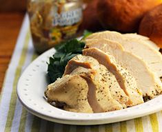 Slow cooker turkey breast, on The Perfect Pantry.