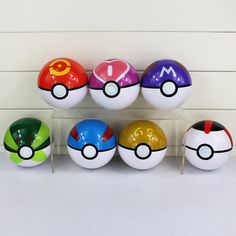 $4.11 (Buy here: https://alitems.com/g/1e8d114494ebda23ff8b16525dc3e8/?i=5&ulp=https%3A%2F%2Fwww.aliexpress.com%2Fitem%2F7pcs-lot-Pokemon-Elf-Ball-Pikachu-Pokeball-Master-PVC-Pokemon-Balls-Kids-Toys10cm%2F32648033256.html ) 1Pcs 7Styles Big Size 10cm Anime Elf Ball Pikachu Pokeball Master Balls Toys Great Gift for just $4.11