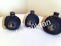 Osmanlı tarzı nar el boyama