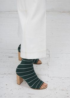 Ports 1961 Striped Knit Boot (Pine)