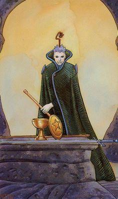 I. The Magician - Secret Tarot by Marco Nizzoli