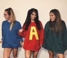 Group Halloween Costumes for College Girls Group Halloween Costumes for College Girls Cute Halloween Costumes For Teens, Best Friend Halloween Costumes, Friend Costumes, Cartoon Halloween Costumes, Vsco Girl Halloween Costume, Disney Group Costumes, Halloween Ideas, Trio Costumes, Grease Costumes