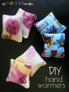 DIY Hand Warmers - Great last-minute DIY Christmas gift idea for sewers