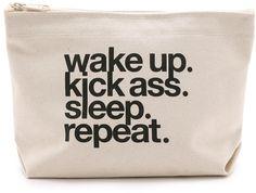 Motivational Makeup Bag