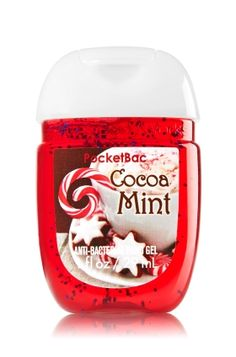 Cocoa Mint PocketBac Sanitizing Hand Gel - The perfect wintry treat of peppermint chocolate & vanilla