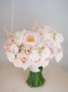 Light Pink Bridal Bouquet, Perfect for Spring! by Moana Events