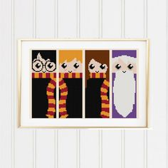 BOGO FREE Harry Potter Cross Stitch Pattern/harry by XStitchMania