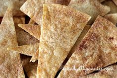 Fresh fruit salsa with cinnamon crisps recipe. This homemade fruit salsa is so easy and very delicious! It will be the hit of any party!
