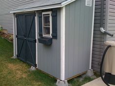 Lean to Shed (with instructions in forum)