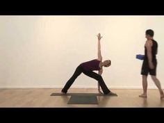 parivrtta trikonasana  revolved triangle pose  works