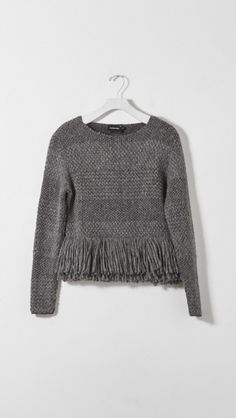 Best Black Friday buys / Rachel Comey Fringe Pullover Sweater in Charcoal | The Dreslyn