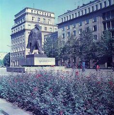 Aleja Róż, fot. D. Zawadzki Socialist Realism, Ppr, Krakow, Old Photos, Poland, Period, City Photo, Cities, Street View