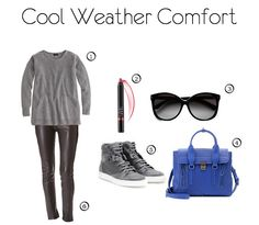 Comfy cooler weather outfit.