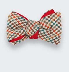 Whool and silk bow tie by CINABRE